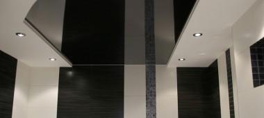 Ванная комната в черно – белом цвете