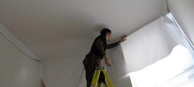 Установка и монтаж натяжных потолков